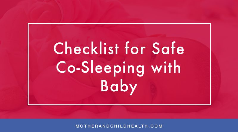 Checklist for Safe Co-Sleeping with Baby