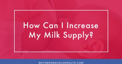 How Can I Increase my Milk Supply?