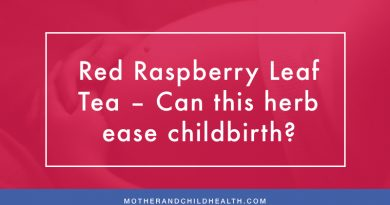 Red Raspberry Leaf Tea – Can this herb ease childbirth?